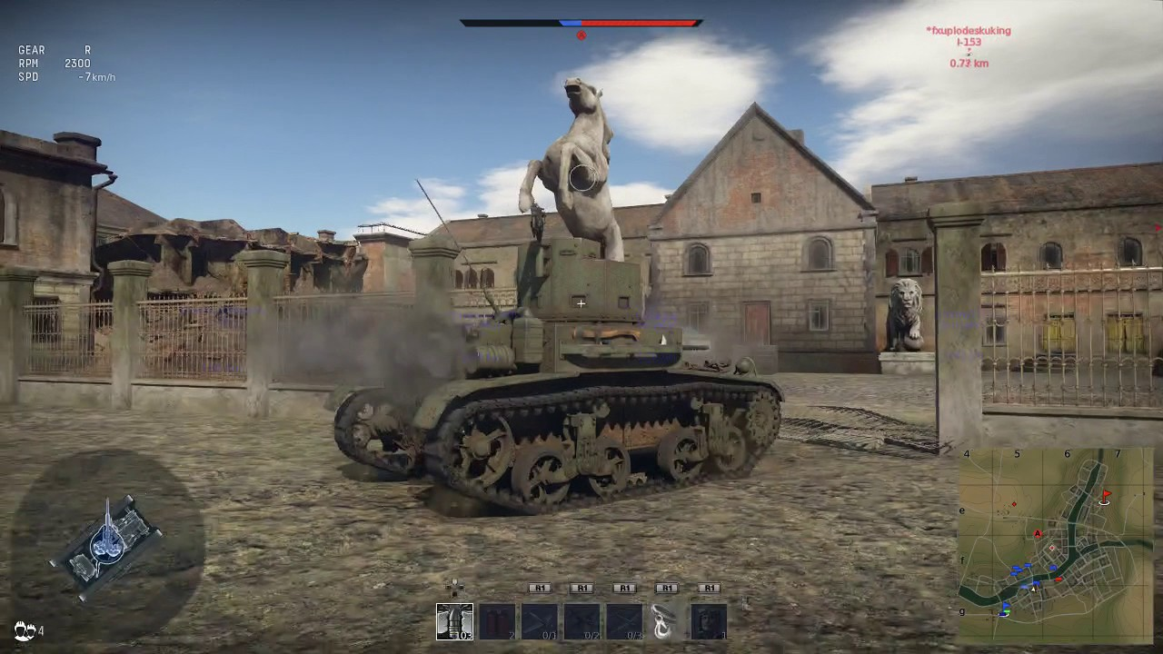 war thunder tanks ps4