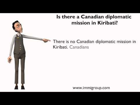Is there a Canadian diplomatic mission in Kiribati?