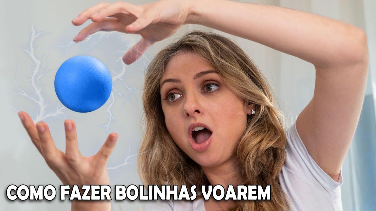 Como fazer bolinhas flutuantes #ClubeDeCiênciasMM
