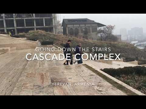 Cascade Complex, Yerevan | Armenia Tour #cascadecomplex #yerevan #cascadeyerevan