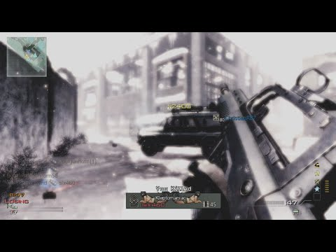 59 seconds Infected MOAB (50-0) - Call of Duty Modern Warfare 3 MW3 Gameplay