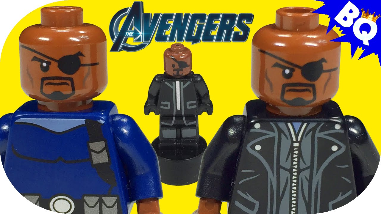 LEGO Avengers Nick Fury Collection - YouTube