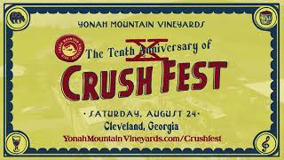 CrushFest | Yonah Mountain Vineyards