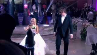 Алла Пугачёва и Максим Галкин на свадьбе Леры Кудрявцевой с Игорем Макаровым (2013)