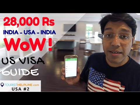 USA Visa & Cheap return flights in 28,000 Rs.