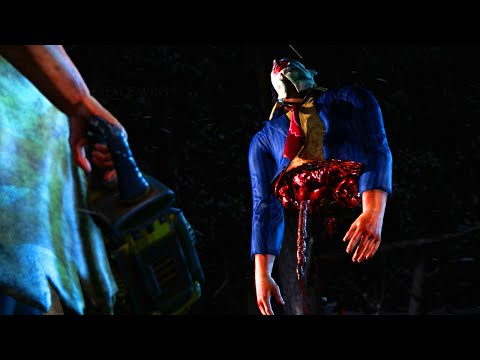 "Mortal Kombat X: Leatherface ""Fatality""  Gameplay - (MKXL DLC Leatherface Fatalities)"