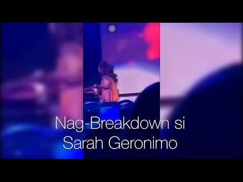 Ang KATOTOHAN sa pag-Breakdown ni SARAH GERONIMO sa Concert sa Las Vegas!