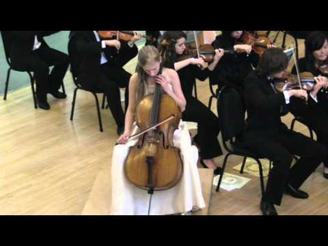 Margarita Balanas plays Shostakovich Cello Concerto