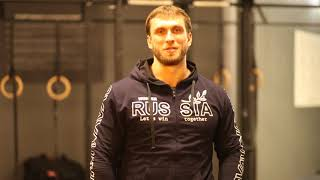 Дмитрий Клоков в нашем зале Атлант !!!
