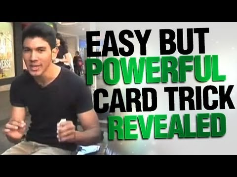 Easy But Powerful Card Trick Revealed Free Magic Revealed