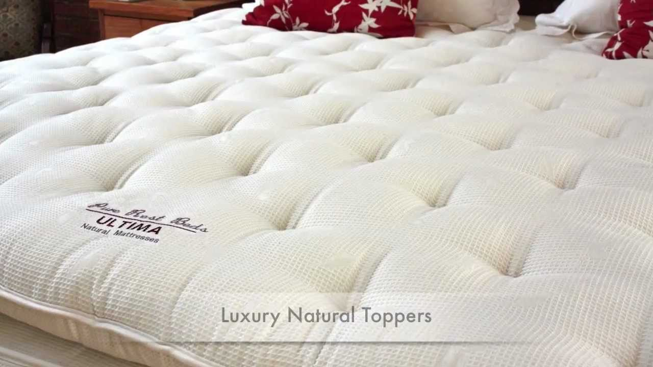 what is the best quality most comfortable luxury natural mattress topper in uk wool fillings youtube