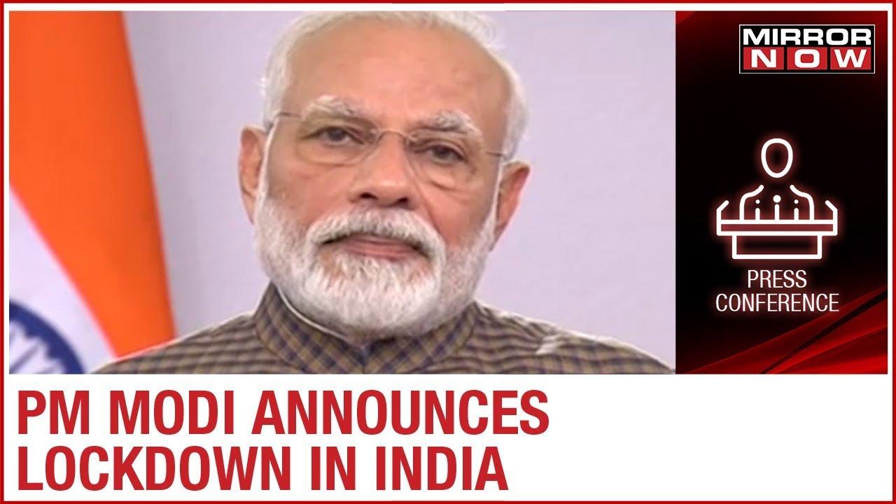 PM Modi announces complete lockdown in India for next 21 days ...