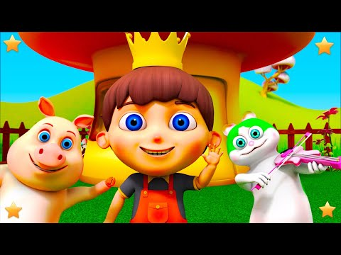 Old King Cole | Kindergarten Nursery Rhyme ' Songs for Kids Collection Animation Video Vy Little Treehouse S03E145