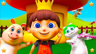 Old King Cole   Kindergarten Nursery Rhyme & Songs for Kids Collection by Little Treehouse S03E145