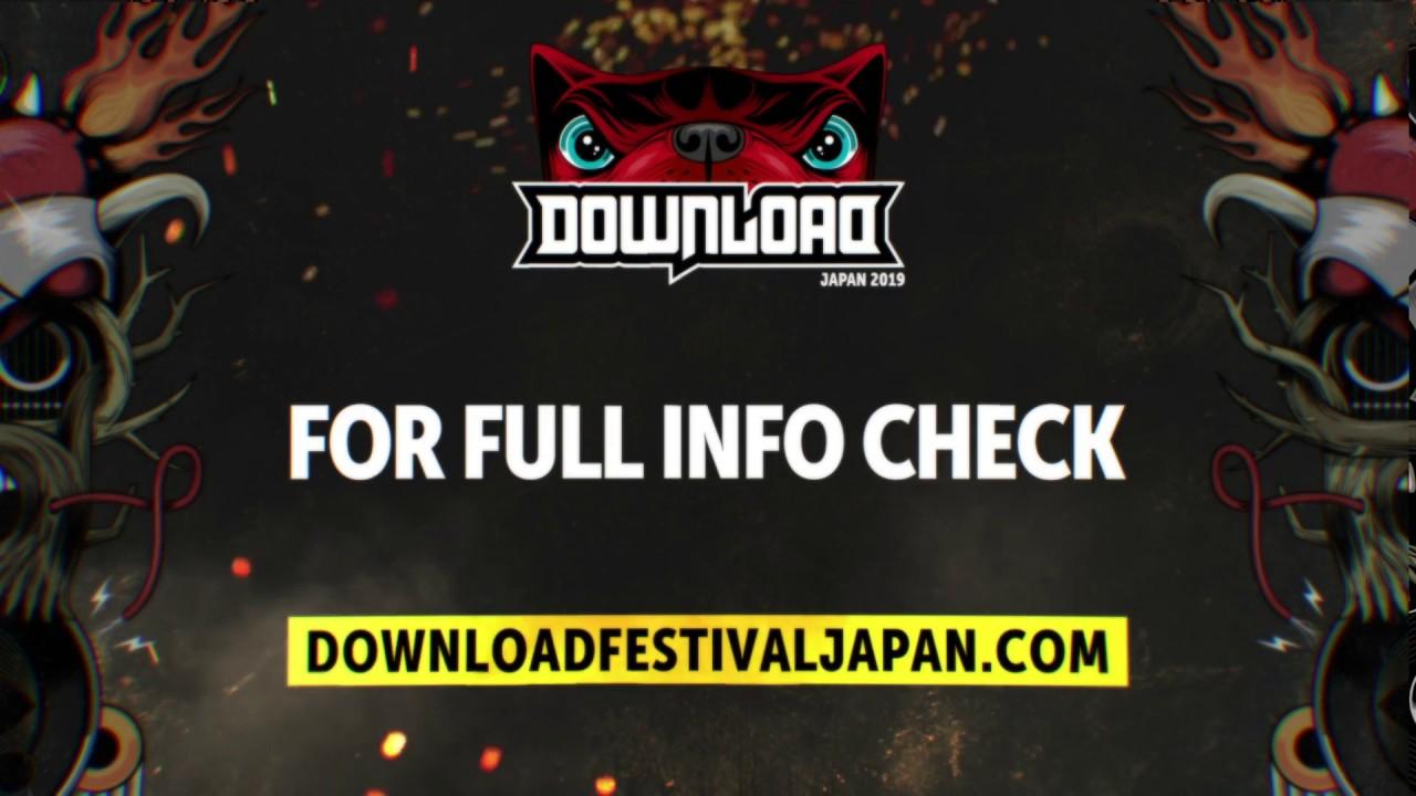 Download Festival Japan 2019 First Line-Up