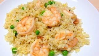 Shrimp Fried Rice -- Chinese Shrimp Fried Rice