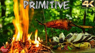EXTREMELY PRIMITIVE COOKING - YOU WONT BELIEVE!