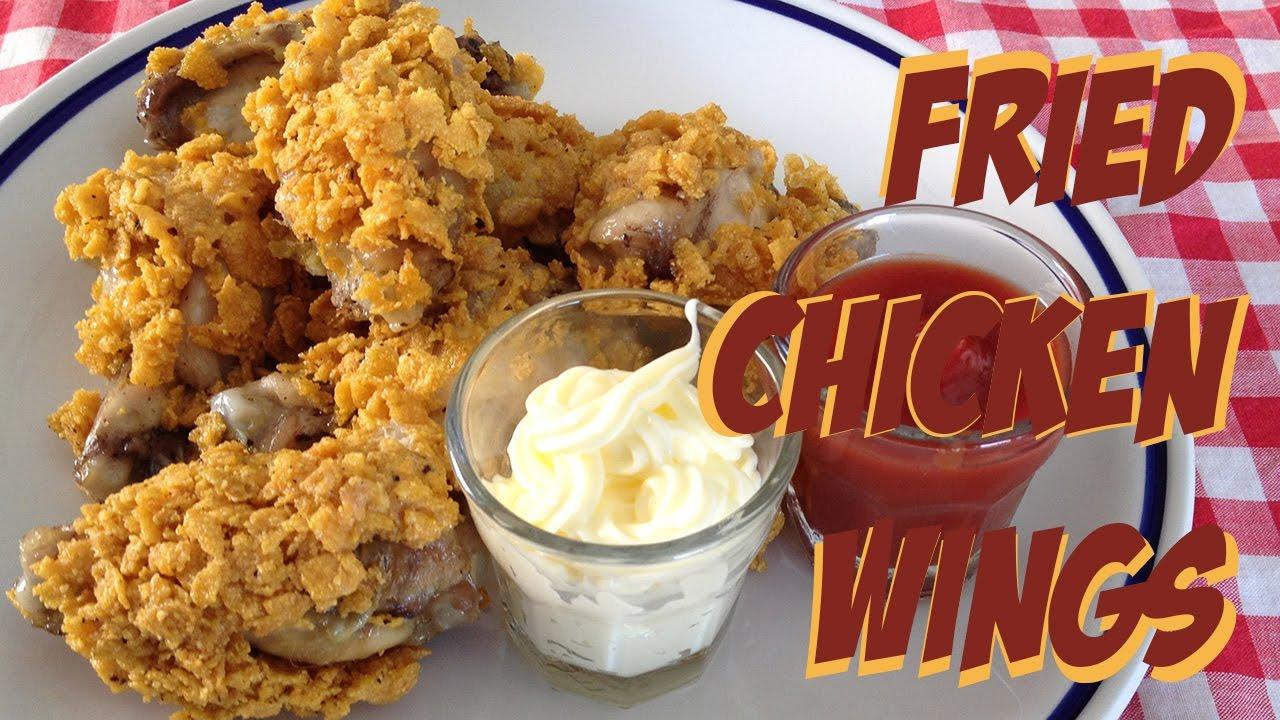 fried chicken wings in microwave