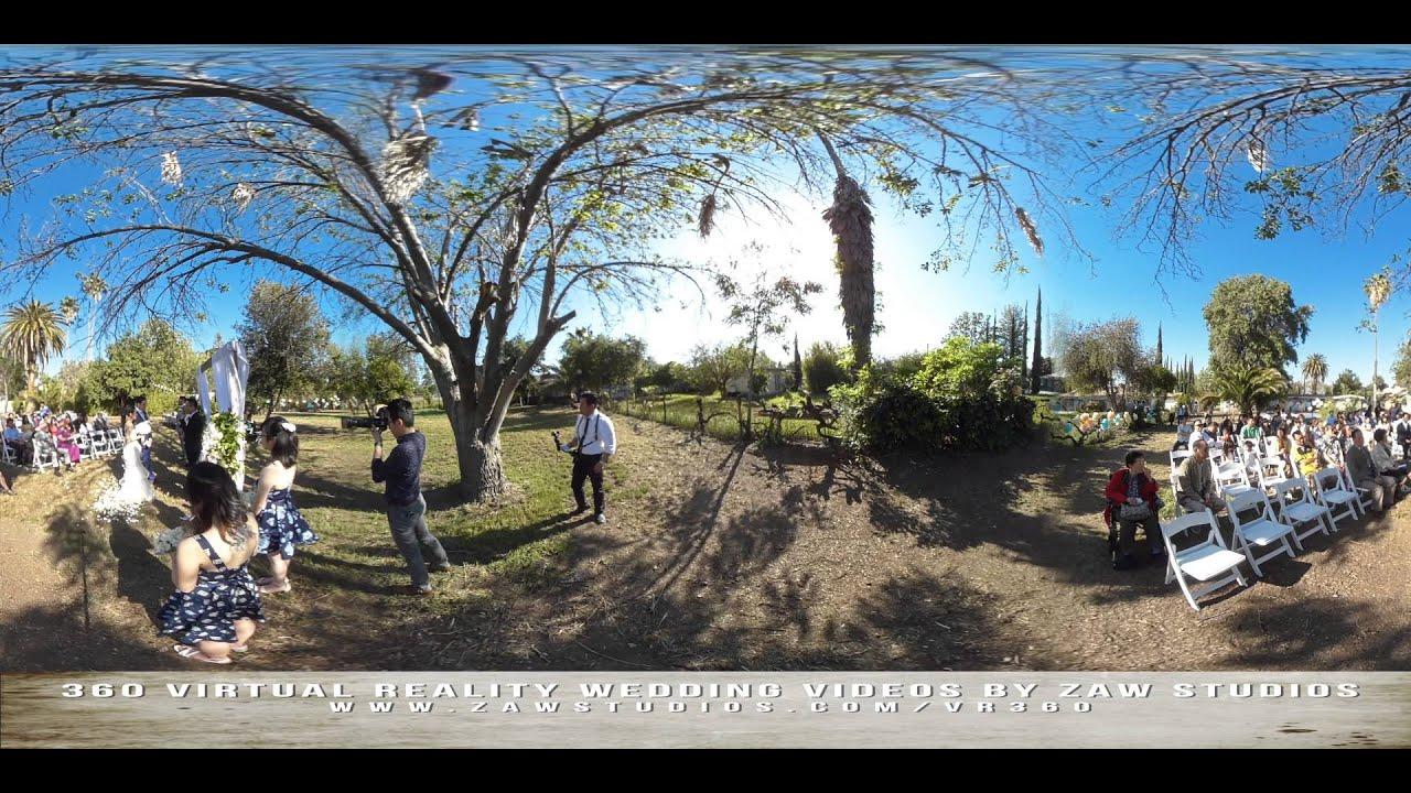 Vr 360 Wedding Ceremony: (360° Virtual Reality) Wedding With Jonathan And Jennifer