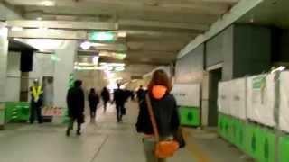 2017 東京自由行-JR新宿站西口經地下道步行至都廳前站、京王廣場&東京凱悅酒店Hyatt Regency Tokyo