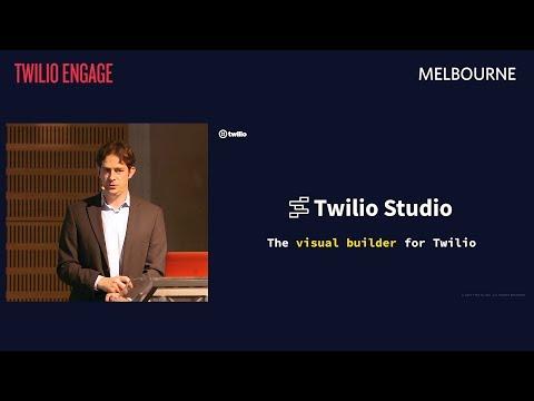TWILIO ENGAGE MELBOURNE | Live Studio Demo