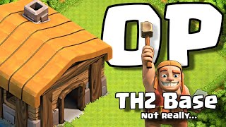 my MASSIVELY OP TH2 Base... sort of... Clash of Clans Lets Play ep. 6