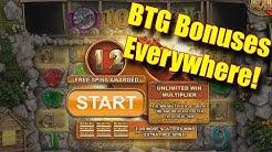 BTG Bonuses Everywhere! - Online Slots - Genesis Casino - The Reel Story