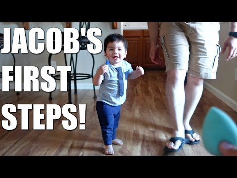 JACOB'S FIRST STEPS + JUSTIN'S BIRTHDAY WEEKEND!