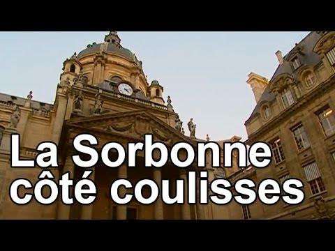 La Sorbonne côté coulisses