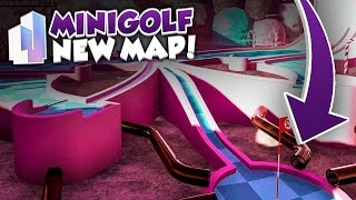 A GOLF MAP MADE OF SWEETS??