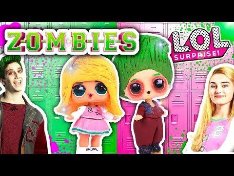 Zombies Película Disney Channel Zed Y Addison Son Muñecas Lol