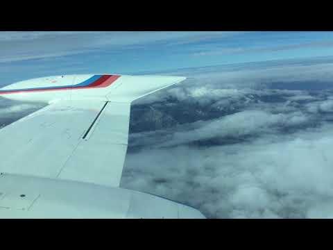 Cessna 340 a III flight to Italy