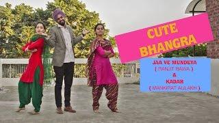 Download Hindi Video Songs - Cute Bhangra on jaa ve mundeya by Ranjit Bawa | kadar by Mankirat Aulakh | punjabi song | D-Hustlerz