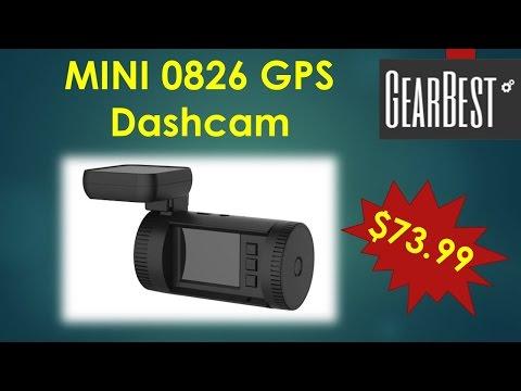 Mini 0826 GPS Dashcam From GearBest