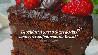 DESCUBRA AGORA O SEGREDO DAS CONFEITARIAS FAMOSAS DO BRASIL