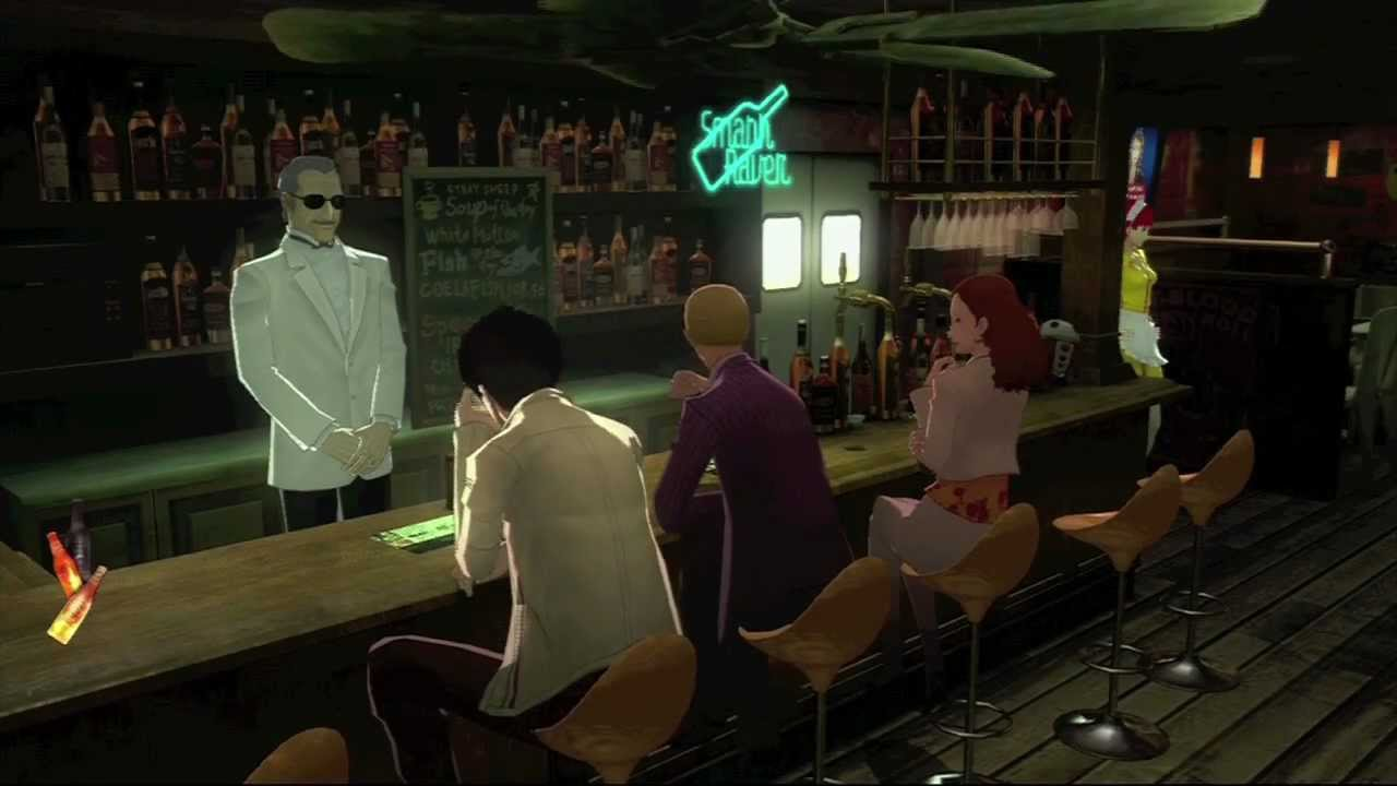 Image result for anime guys at bar