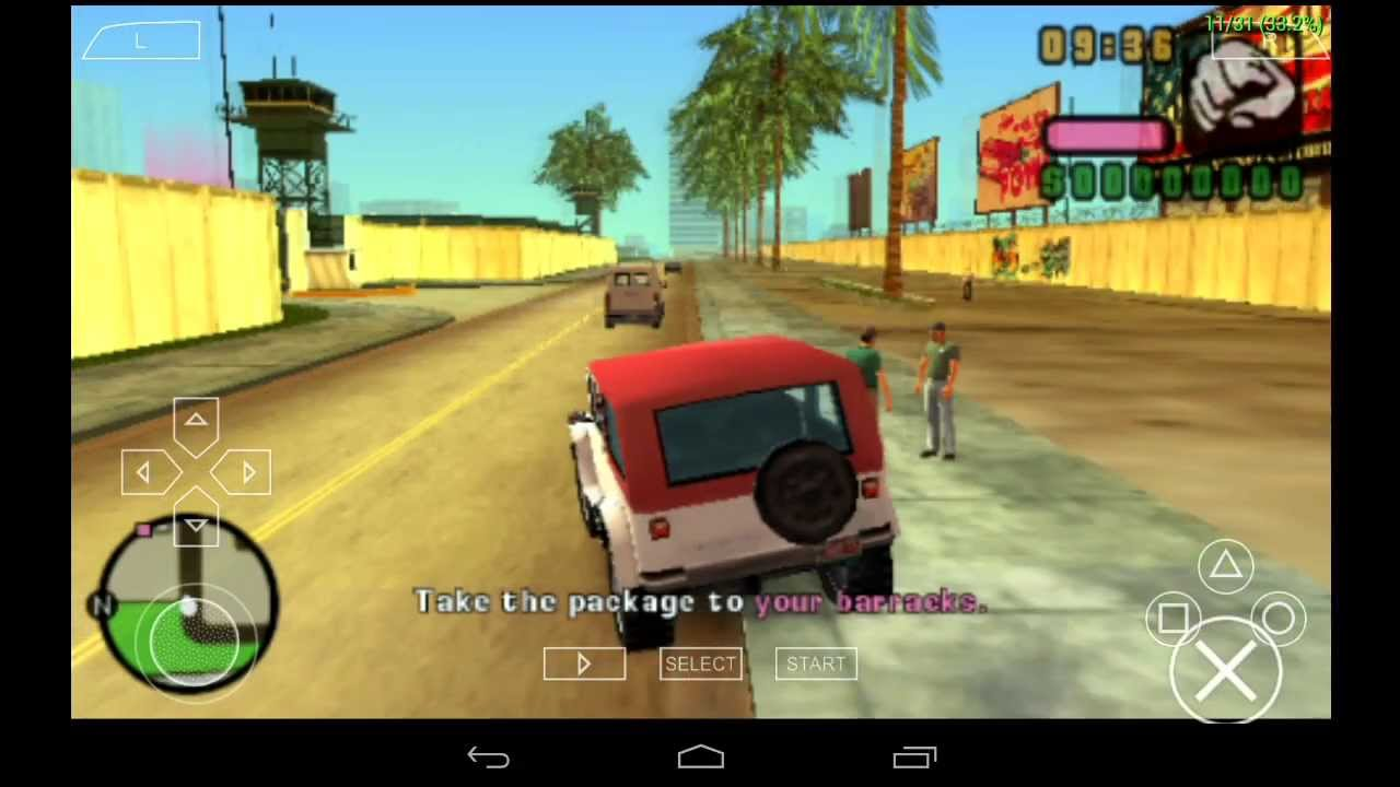 grand theft auto vice city stories android game