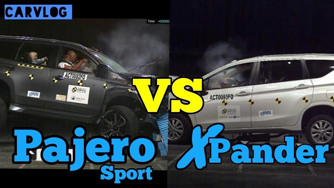 uji tabrak grand new avanza g 2016 xpander pajero sport carvlog 20 youtube