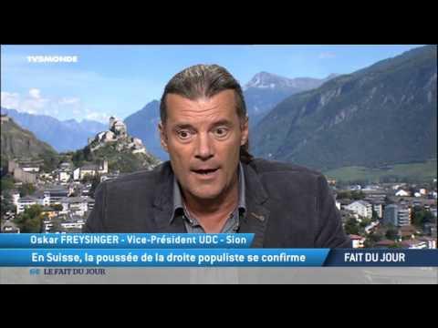 """Oskar Freysinger : """"Le peuple suisse est un peuple pragmatique"""""""