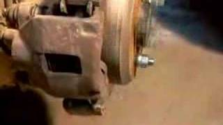 Bent axle shaft