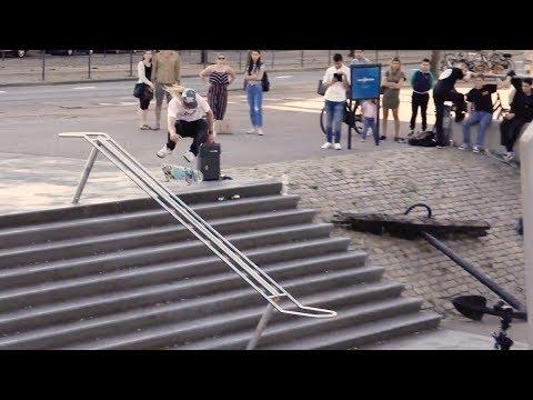 Woody Hoogendijk - Hardflip Blauwe 10 Rotterdam