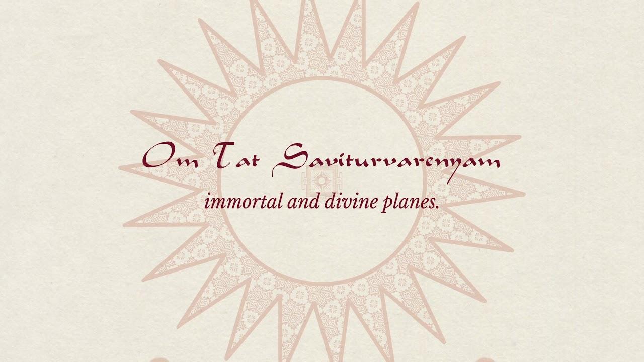 Ravi Shankar's Chants of India - 'Gaayatri' (Lyric Video)