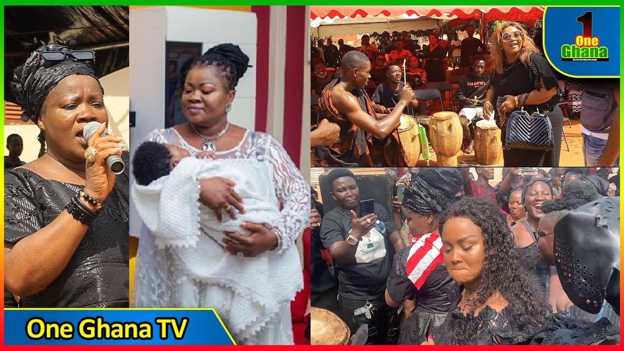 Download I've not given birth to new baby-Mercy Asiedu debunks rumor🔥Mcbrown,Christiana Awuni on Adowa dance