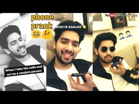 ARMAAN MALIK Live | doing prank with a fan call | mini 💓 attack time | cute and lovely