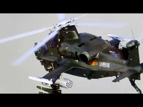 Identifying Foreign Gear & Personnel : 4 Chinese Attack Helicopters