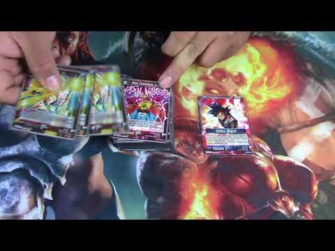 Dragon Ball Super (DBS -TCG) - Deck Tech Blue /Red Aggro Babidi
