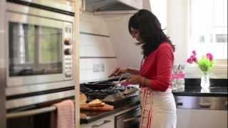 How To Make Coconut French Toast - Anjum Anand - Anjum Anand's Indian Vegetarian Feast