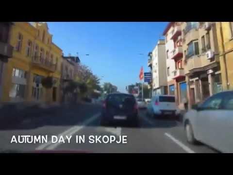 Driving in Skopje (Time Lapse)
