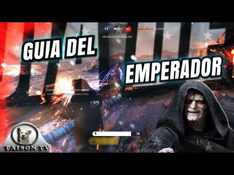 Star Wars Battlefront Guía del emperador Palpatine trucos y consejos
