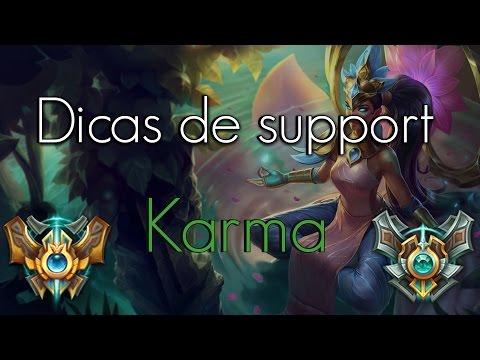 Dicas de support - Karma